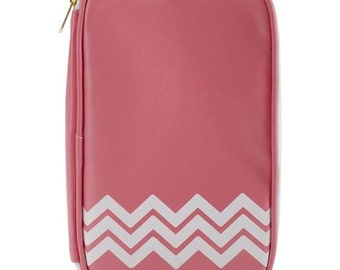 Webster's Pages Color Crush Leather CraftMate Folio Light Pink