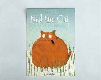 Ned the Cat Children's Rhyming Book