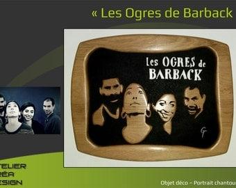 "Provencal portrait ""Les Ogres de Barback"""