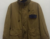 Vintage 80s 90s Christian Dior Monsieur Trench Coats Winters Jacket High Fashion Size M Puffy Puffer