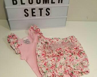 Ruffle Bum Bloomer & Singlet Set