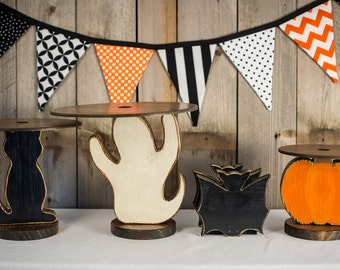 Halloween Party Kit, Cupcake Stands and Banner