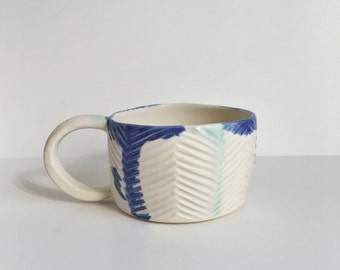 Herringbone Stripe Mug #2