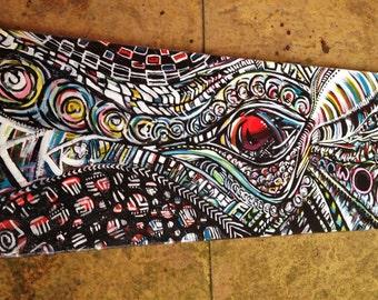 I-Trepidation, Original Artwork on Canvas