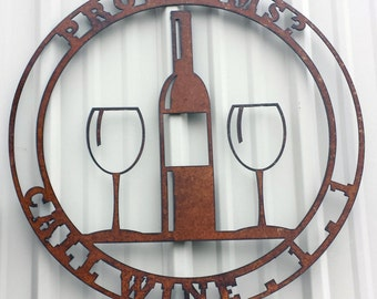 Funny Wine 1-1 Sign