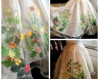 Flower Circle Skirt