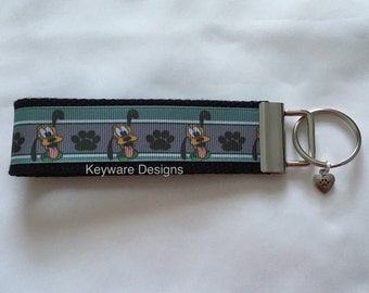 Pluto Key Fob Keychain
