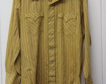Vintage JC Penny Western Shirt