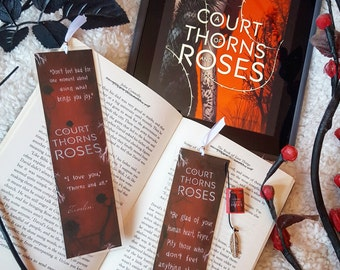 A court of thorns and roses bookmark - Handmade