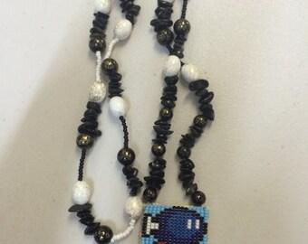 Native American Geek - Mario Bomber Bead Necklace