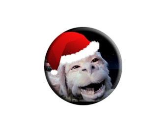 CHRISTMAS The NeverEnding Story (1984) handmade film / movie badge [Falkor]