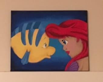 Little Mermaid Canvas