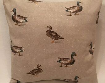 Fryetts Mallard Duck fabric cushion cover