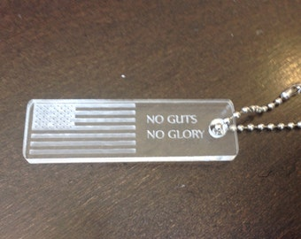 No Guts No Glory Magnet / Key Chain