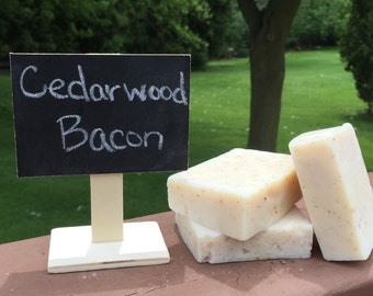 Cedarwood Bacon Soap
