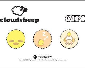 Cloud Sheep Cipi