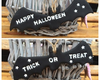 Bat decor, vampire bat, black bat, bat decoration, halloween bat, bat, bat wings, trick or treat bat, hanging bat, bat halloween decoration