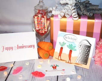 Happy Anniversary - Funny Card - Punny - Personalize it