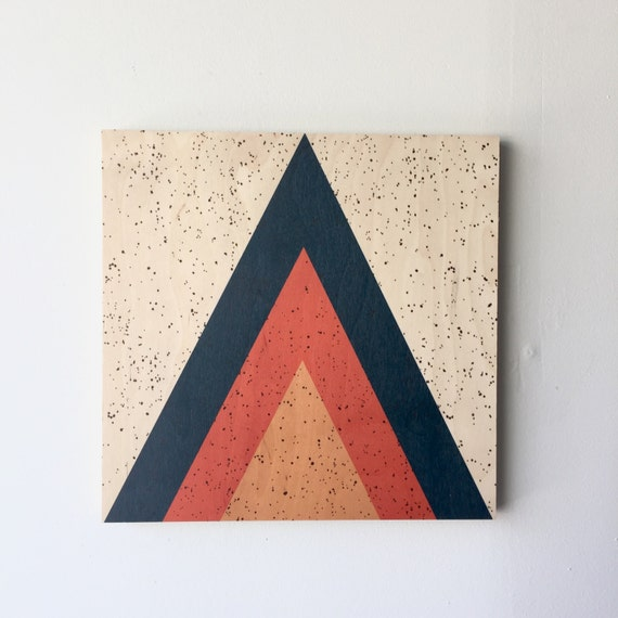 ARROW wood art print