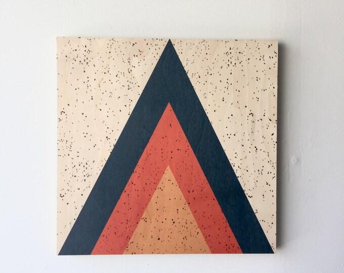 ARROW wood art print