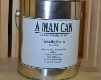 A Man Can - Gifts Baskets for Men (TM)