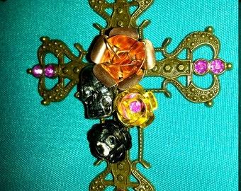 Steampunk Cross Necklace