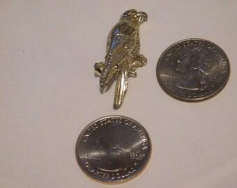 vintage parrot brooch