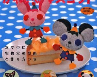 Felt mascots K Matsuda Crafts book Pdf Felt toy