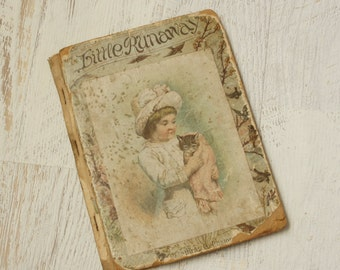 1800s children's book | Little Runaway by Laurie Loring 1887