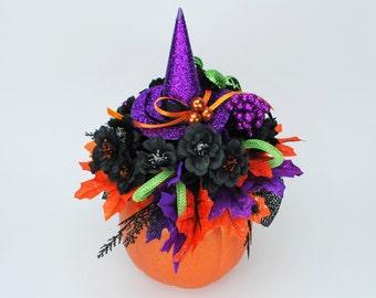 Halloween, Halloween Decoration, Pumpkins, Fall Decor, Halloween Decor, Halloween Party, Witch Hat, Halloween Pumpkins, Pumpkin Decor