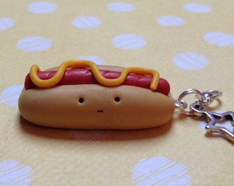 Polymer Clay Kawaii Hotdog
