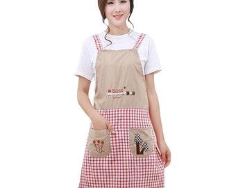 Picnic apron with pockets - (371500732645-EB)