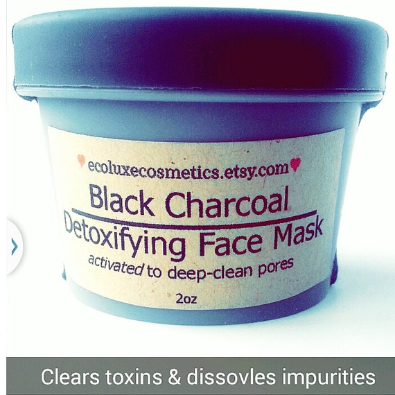 Organic Activated Charcoal Face Mask: Activated Charcoal Face Mask Organic Skincare/ By