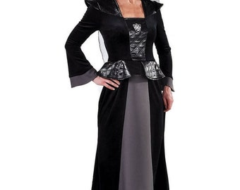 Summer Sale Magnificent Medieval Wicked Stepmother Costume  , sizes 6-22
