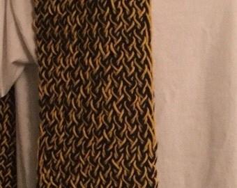 Black & Gold Mizzou Scarf