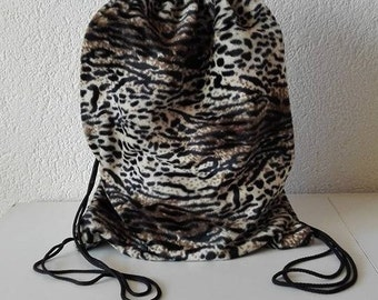 Turn bag Leopard