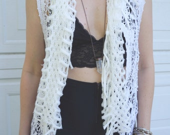 Crochet Festival Vest