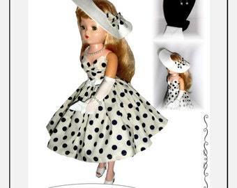 Doll Clothes PDF Pattern for Vintage 20'' MA Cissy  Doll by NVME 20VC-2