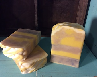 Lemon Lavender-Handcrafted Artisan Cold Process Soap