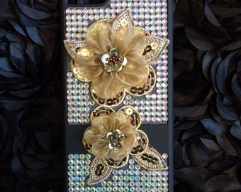 Bling Cell Phone Case - Fits iPhone 6 plus