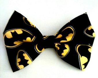 Batman pet dog cat bowtie