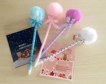 Fluffy Fur Ball pen