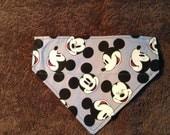 Mickey Mouse Inspired dog bandanna dog bandanna disney bandana dog scarf disney scarf puppy bandana