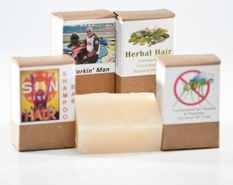 Shampoo Bars herbal all natural hair care