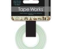 15mm Tape Works Paris Pattern Washi Tape For Planners Day Journals