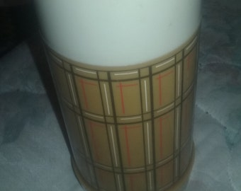 Vintage Aladdin Thermos Bottle 10 oz Wide Mouth WM4020 Top And Cup