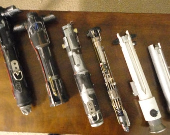 Custom Lightsaber Designs