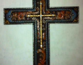 Cross Wall Decor Rustic Western RA4708