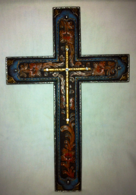 Crosses for wall decor : Cross wall decor rustic western ra