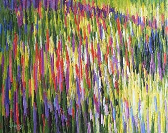 """Oil painting """"Bloom field"""""""